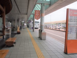 鹿児島空港バス乗り場